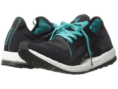 adidas Running Pureboost X W - Black/Shock Green