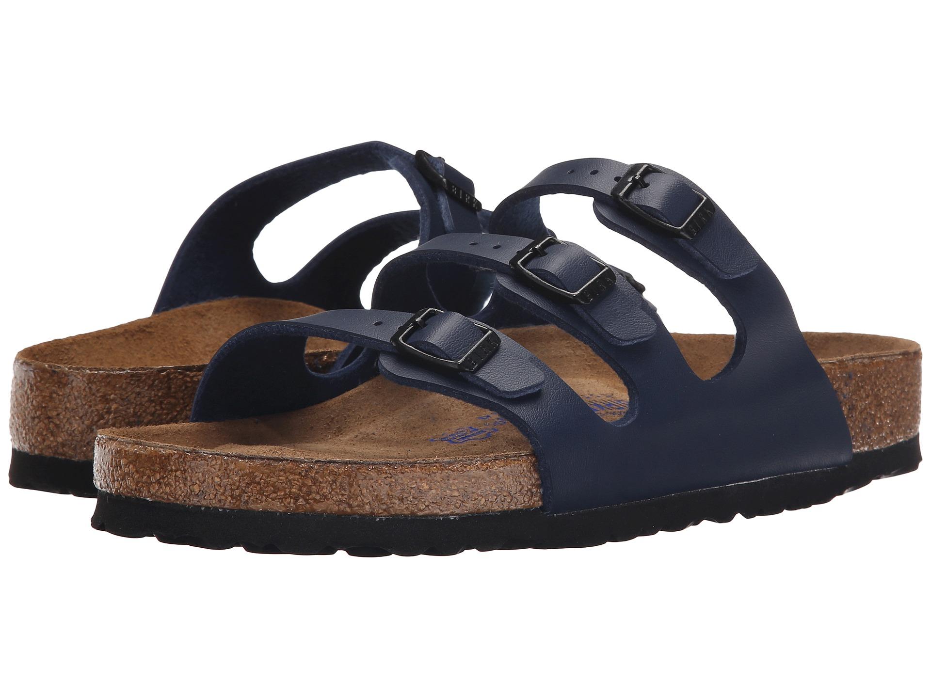 birkenstock florida soft footbed - birko-flor™ at zappos