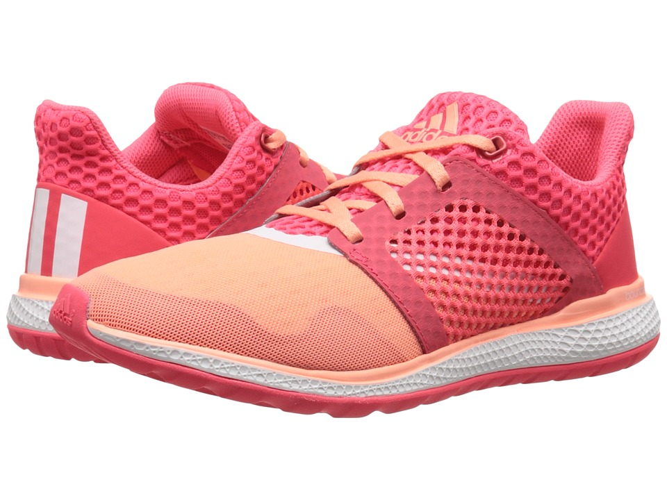 adidas Running Energy Bounce 2 W Sun Glow/White/Shock Red Womens Running Shoes