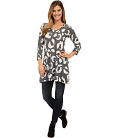 Nally & Millie - Black and Cream Handpainted Tunic