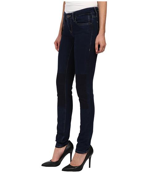 mavi jeans serena indigo patch out jeggings. Black Bedroom Furniture Sets. Home Design Ideas