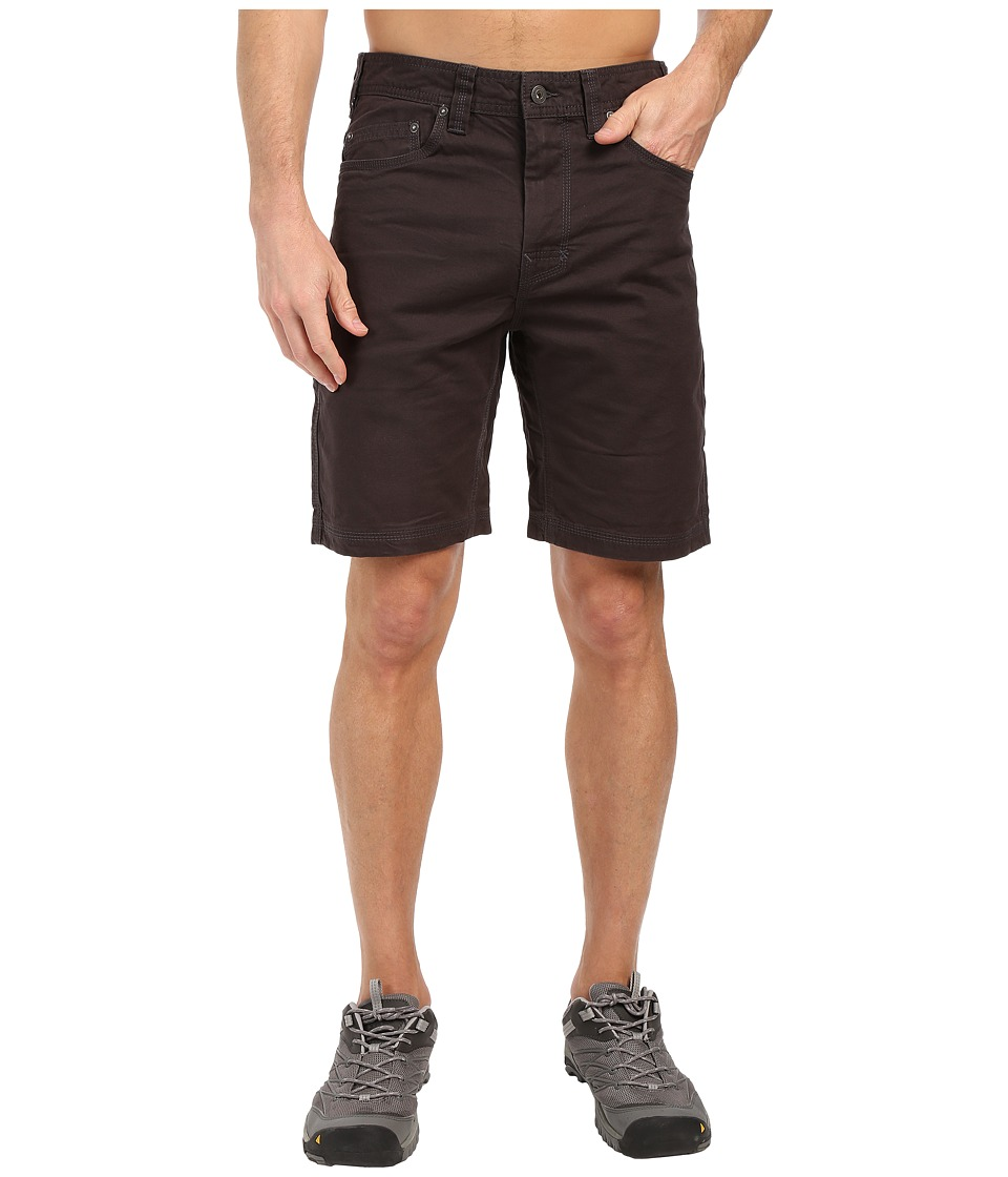 Prana Bronson Short (Charcoal 1) Men