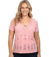 Roper - Plus Size 0227 Heather Jersey Hi-Lo Tee