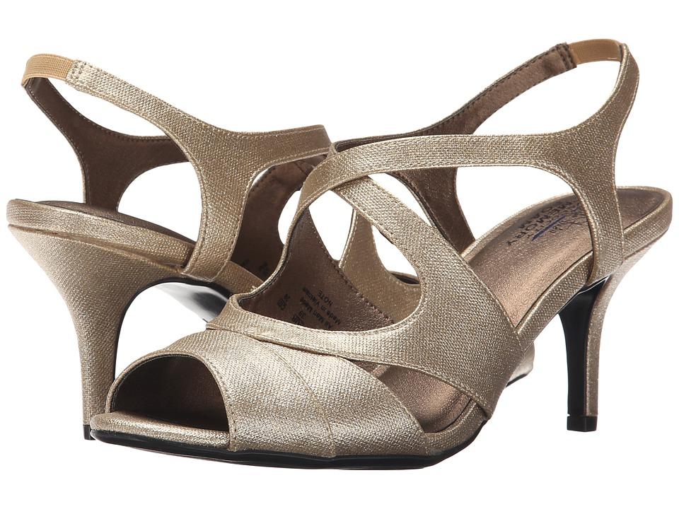 LifeStride Note Gold Twinkstar High Heels