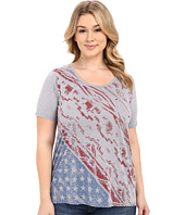Roper - Plus Size 0227 Lightweight Heather Jersey Tee