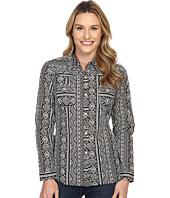 Roper - 0202 Aztec Printed Stripe Lawn Shirt