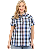 Roper - Plus Size 0166 Stone Plaid
