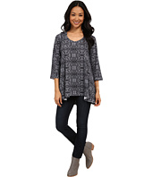 Nally & Millie - Aztec Print Sweater Tunic