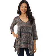 Nally & Millie - Ikat Sharkbite Tunic