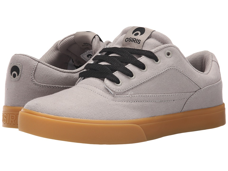 Osiris Caswell VLC Grey/Gum Mens Skate Shoes