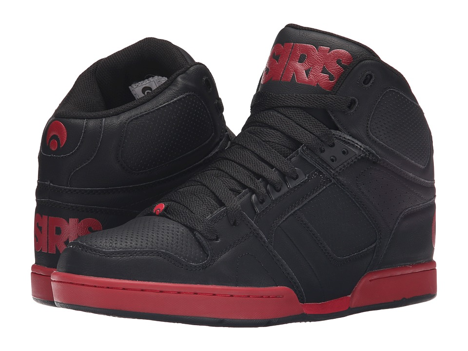 Osiris - NYC83 (Black/Red) Men