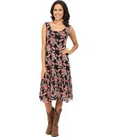 Roper - 0275 Printed Mesh Midi Dress