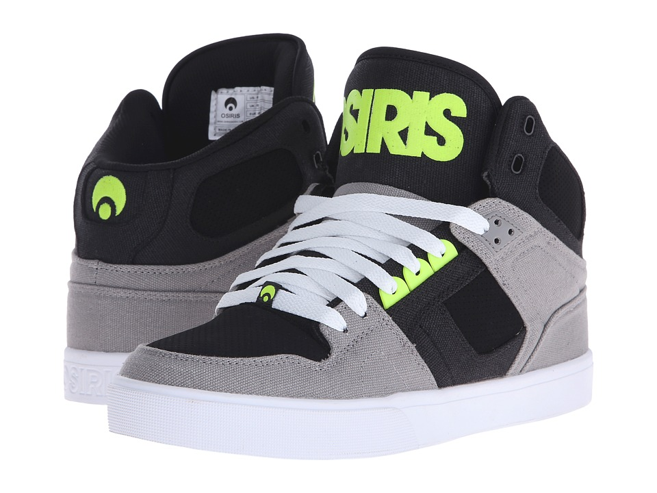 Osiris - NYC83 VLC (Grey/Lime) Men