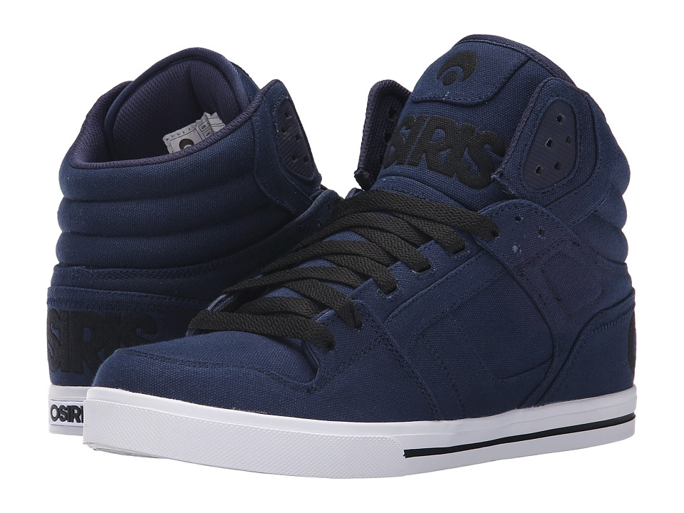 Osiris Clone Navy/White Mens Skate Shoes