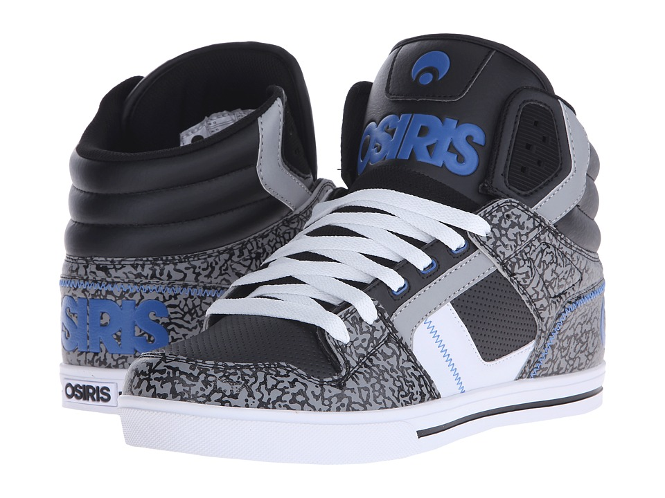Osiris - Clone (Black/Blue/Elephant) Men