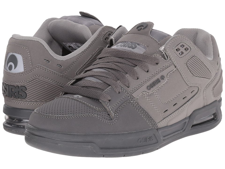 Osiris Peril Grey/Charcoal Mens Skate Shoes
