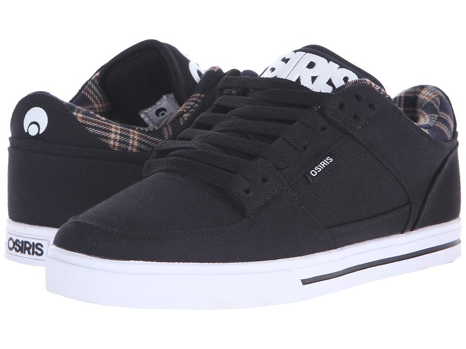 Osiris Protocol Black/Plaid Mens Skate Shoes