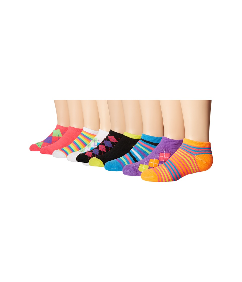 Steve Madden 10 Pack Fashion Low Cut Socks Toddler/Little Kid/Big Kid White 2 Womens Low Cut Socks Shoes