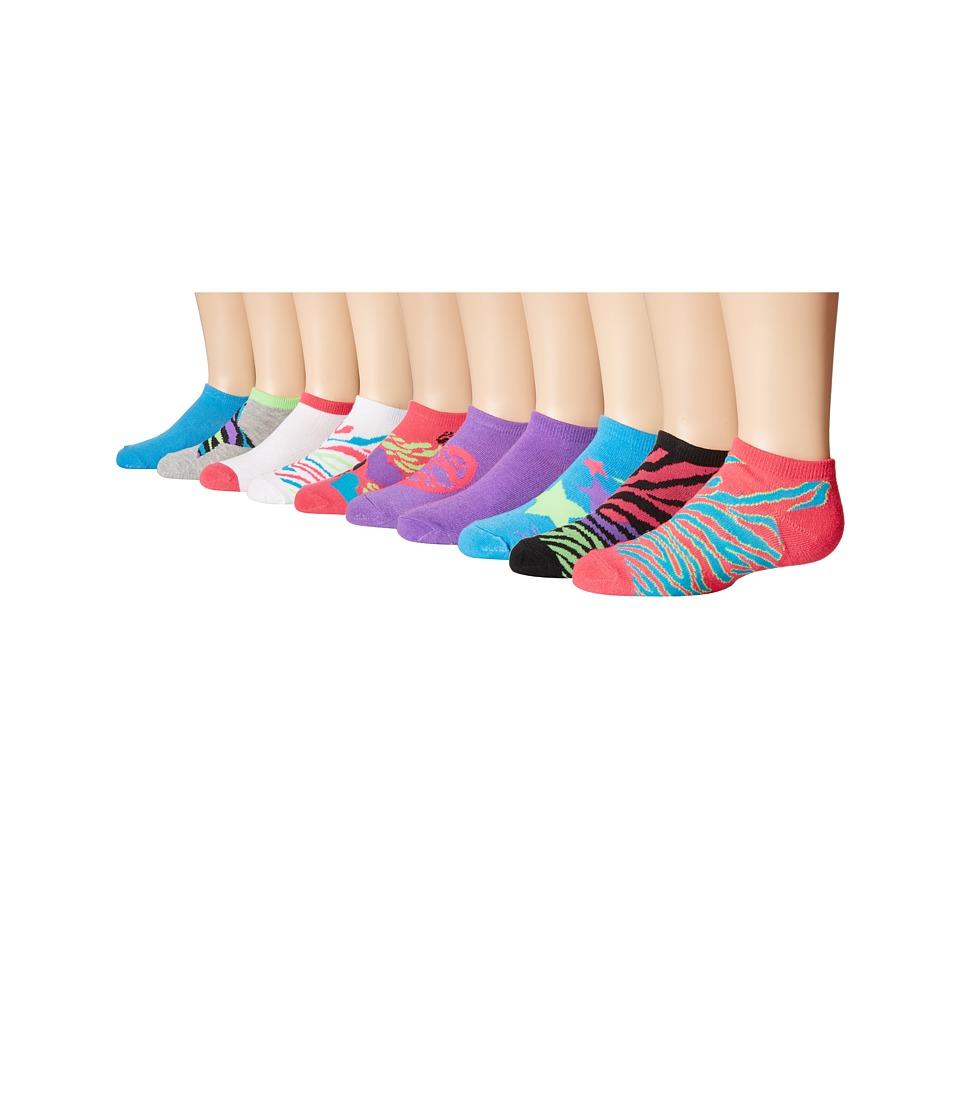 Steve Madden 10 Pack Fashion Low Cut Socks Toddler/Little Kid/Big Kid Purple Womens Low Cut Socks Shoes