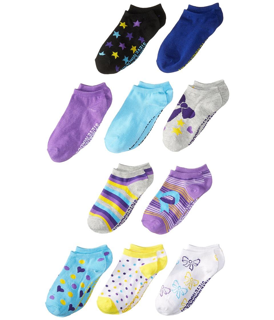 Steve Madden 10 Pack Fashion Low Cut Socks Toddler/Little Kid/Big Kid Heather Grey Womens Low Cut Socks Shoes