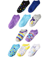 Steve Madden - 10-Pack Fashion Low Cut Socks (Toddler/Little Kid/Big Kid)