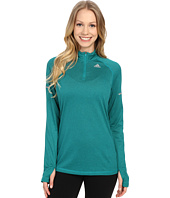 adidas - Run Half Zip Long Sleeve Tee