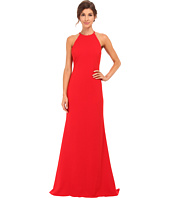 Badgley Mischka - Stretch Crepe Halter Gown