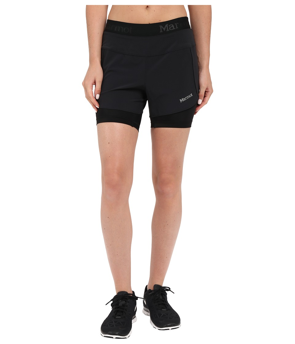 Marmot - Pulse Short (Black) Womens Shorts