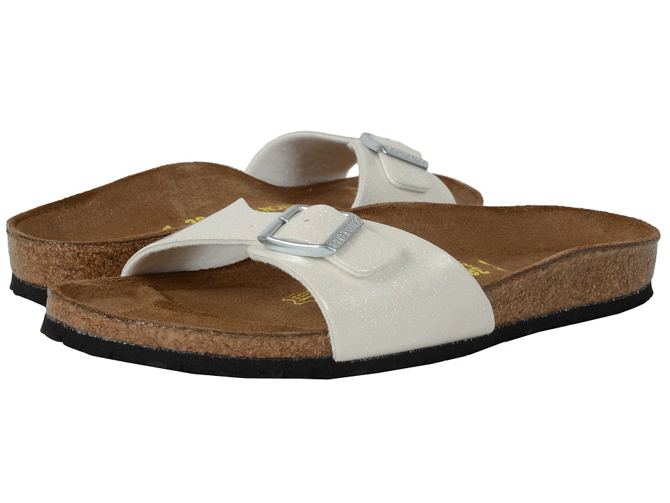 Birkenstock Madrid Magic Galaxy White Birko Flor Womens Shoes
