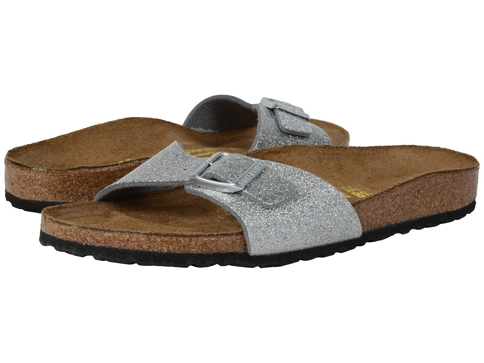 Birkenstock Madrid (Magic Galaxy Silver Birko-Flor ) Women