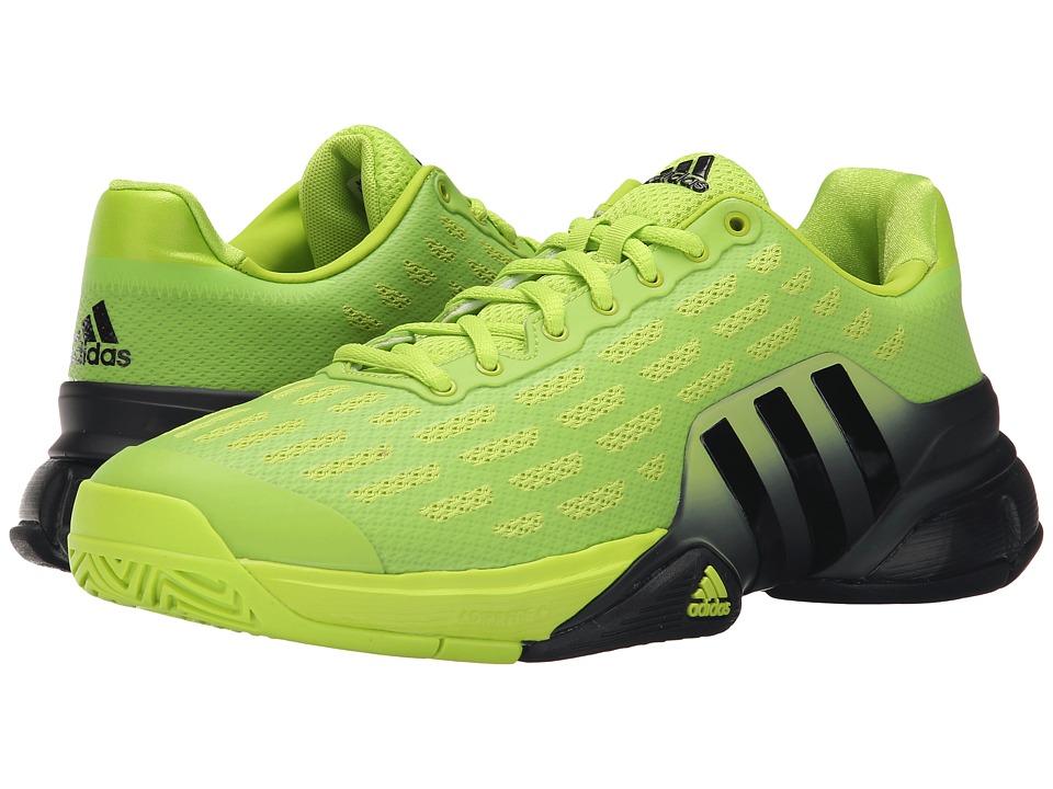 adidas - Barricade 2016 (Semi Solar Slime/Black) Men