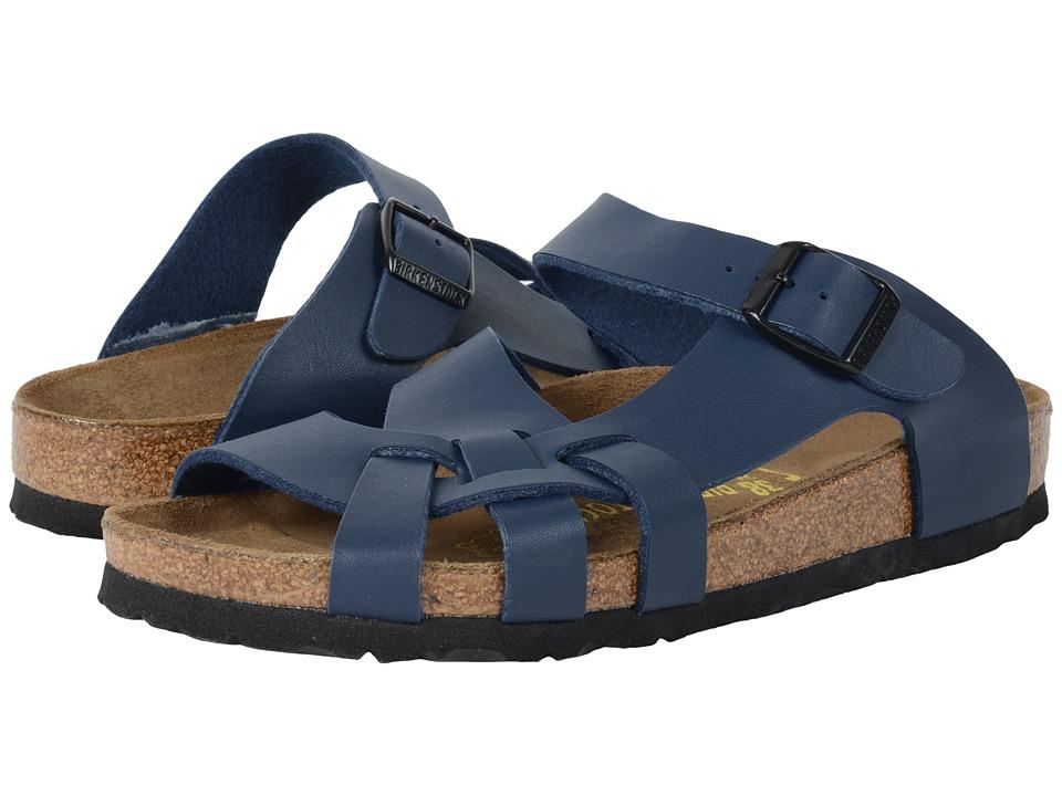 Birkenstock - Pisa (Unisex) (Navy Birko-Flortm) Womens Shoes