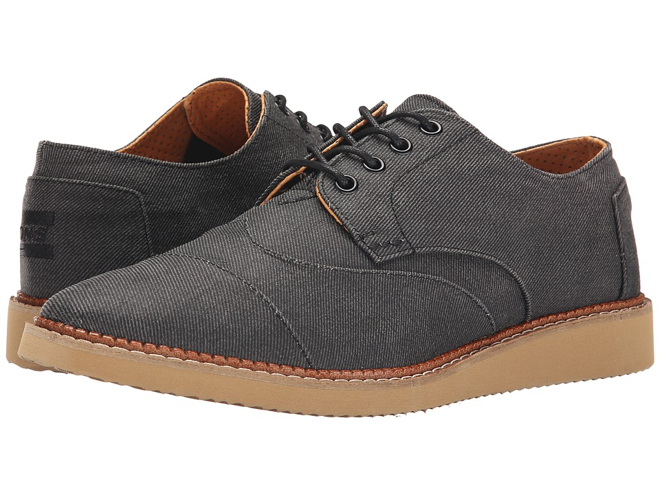 Toms Brogue (Ash Aviator Twill) Men's Lace up casual Shoes