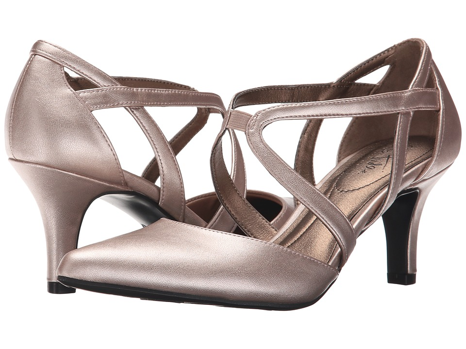 LifeStride Seamless (Rose Gold Vinci) High Heels