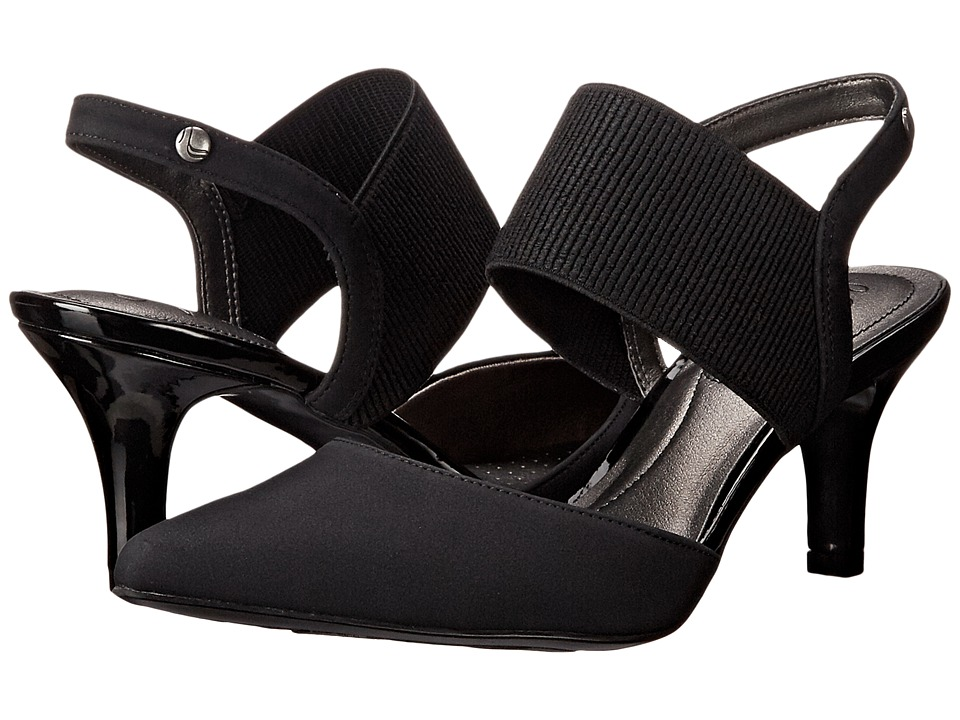 LifeStride Solace (Black Regal) High Heels