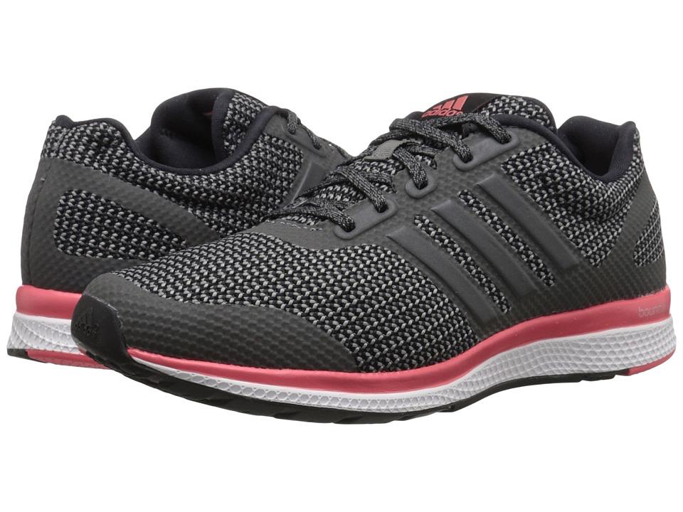 adidas Running Mana Bounce W Black/Vista Grey/Super Blush Womens Running Shoes