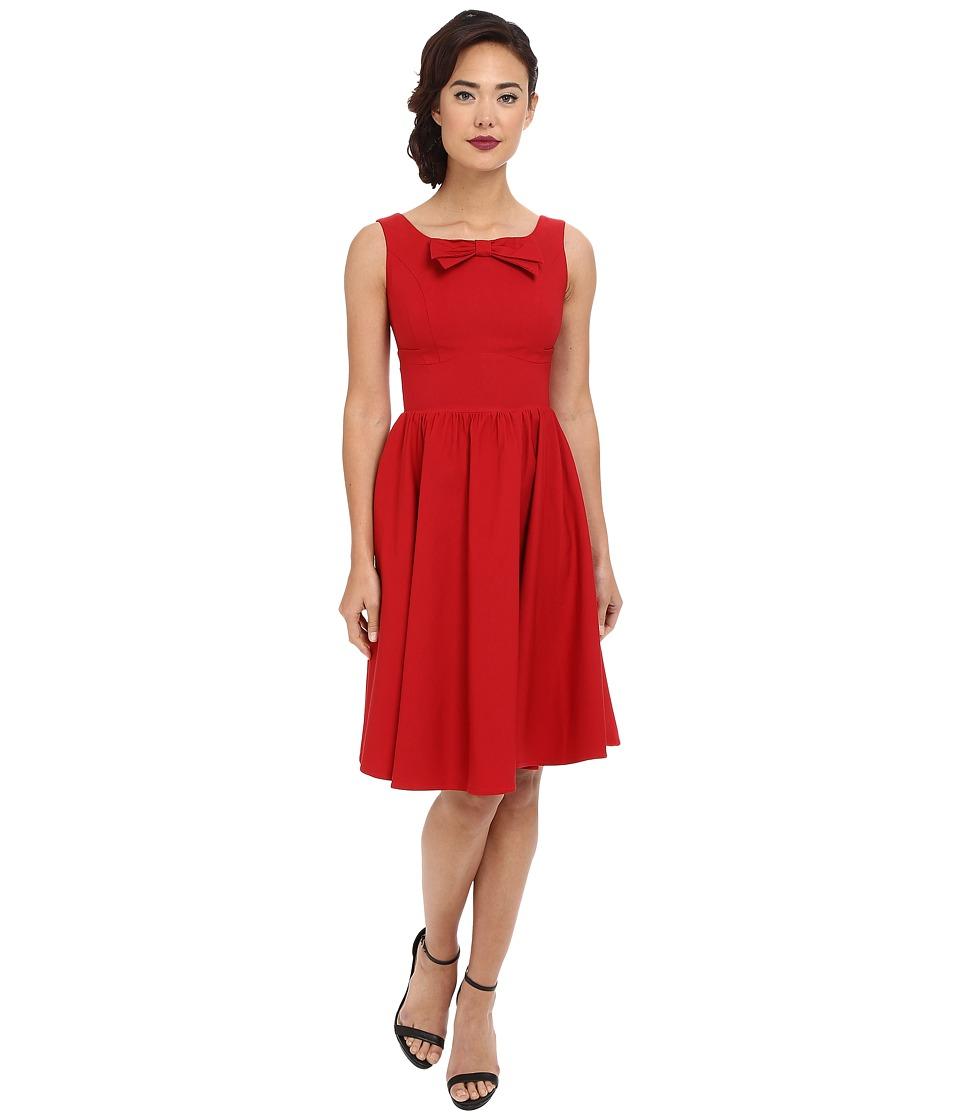 Stop Staring - Noeley Swing Dress Red Womens Dress $197.00 AT vintagedancer.com