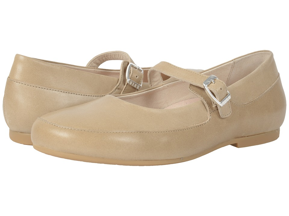 Birkenstock Lismore Nude Leather Womens Shoes