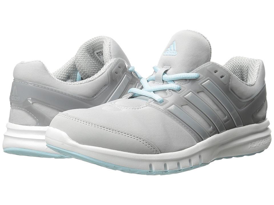 adidas Running Galaxy Elite 2 W Clear Grey/Silver Metallic/Frozen Blue Womens Running Shoes