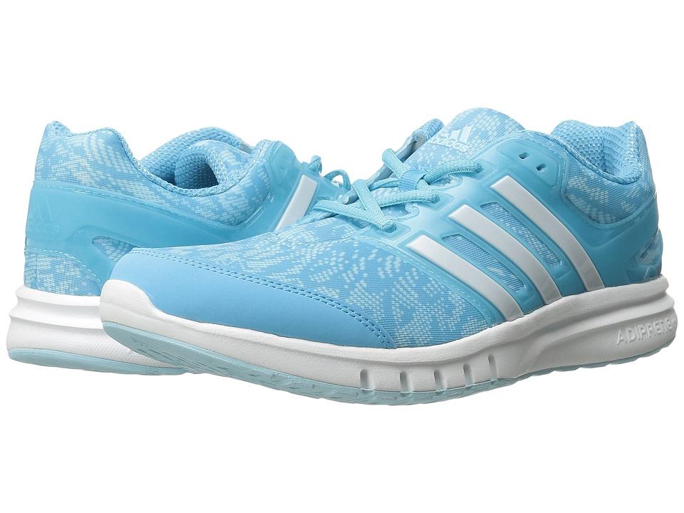 adidas Running Galaxy Elite 2 W Bright Cyan/White/Frozen Blue Womens Running Shoes