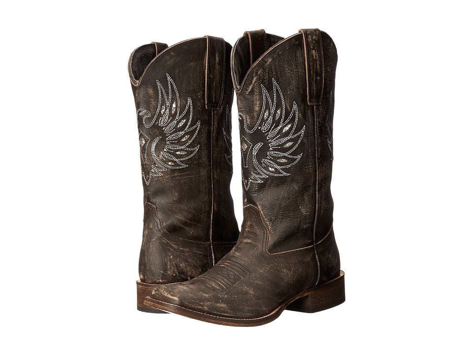 Roper Eagle Wings (Brown) Cowboy Boots