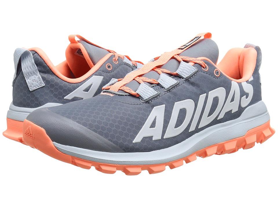 adidas Running Vigor 6 TR W Grey/Sun Glow/Halo Blue Womens Running Shoes