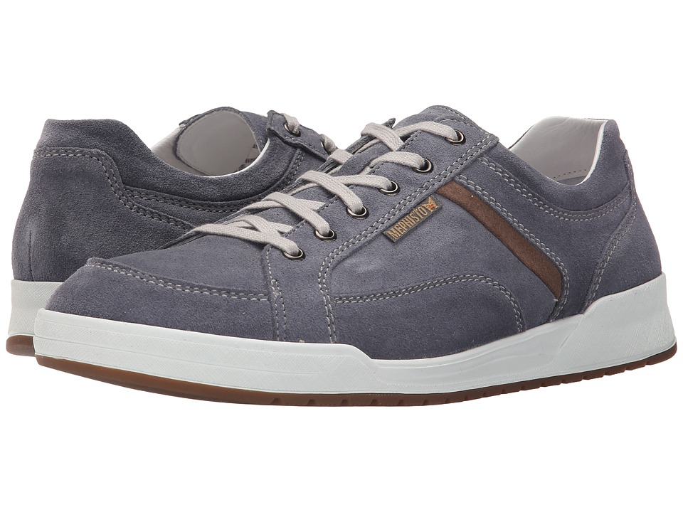 Mephisto Rodrigo (Denim/Warm Grey Suede) Men