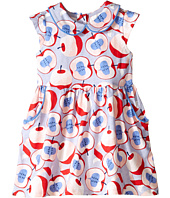 Pumpkin Patch Kids - Urban Folk Apple Print Knit Dress (Infant/Toddler/Little Kids)