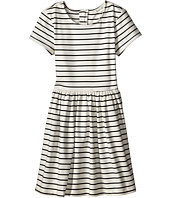 Pumpkin Patch Kids - Dance Academy Striped Ponti Skater Dress (Little Kids/Big Kids)
