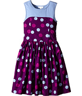 Pumpkin Patch Kids - Pick 'n Mix Spotty Skater Dress (Little Kids/Big Kids)