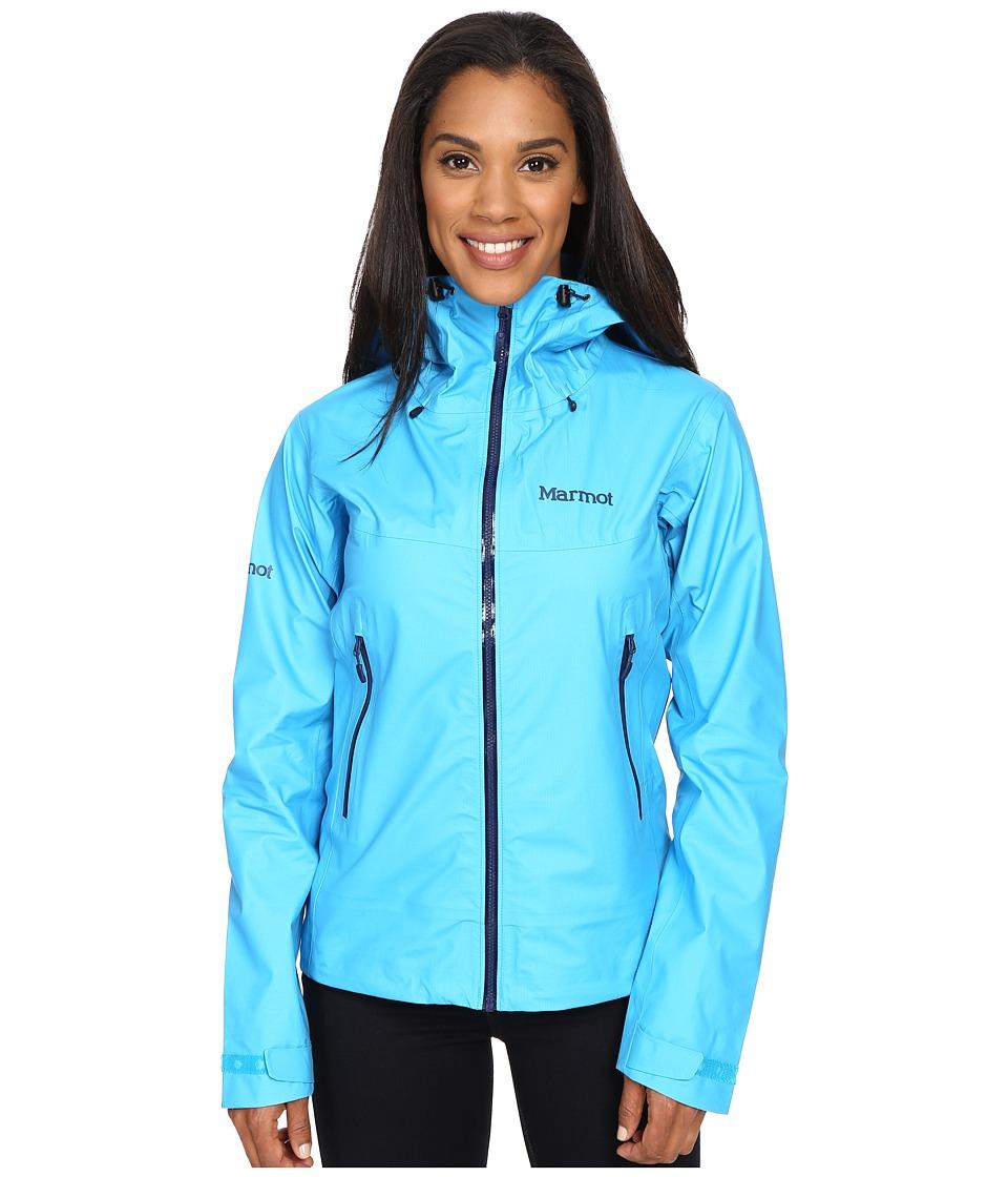 Marmot Starfire Jacket Blue Sea Womens Coat