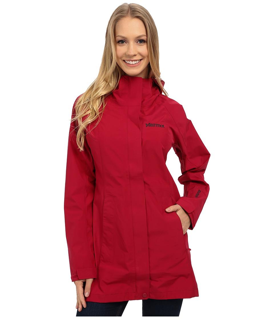 Marmot Essential Jacket Dark Raspberry Womens Coat
