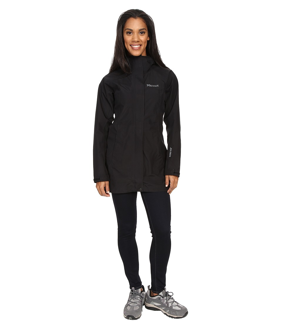 Marmot Essential Jacket (Black) Women's Coat