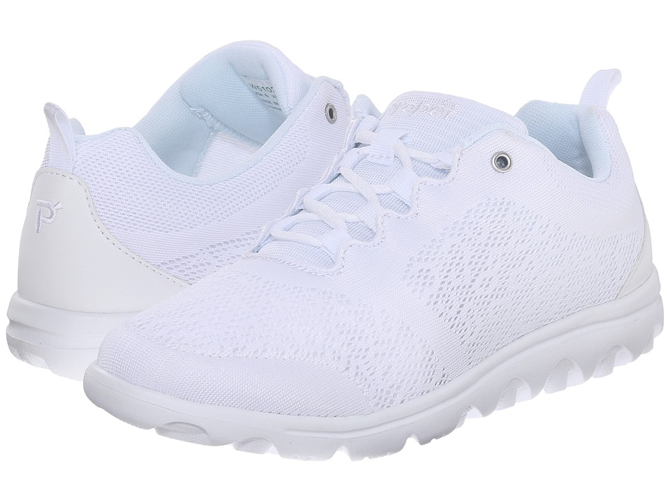 Propet TravelActiv (White) Women's Shoes